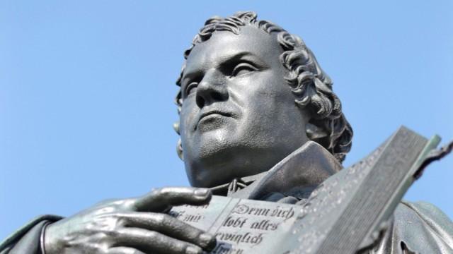 Denkmal von Martin Luther in Wittenberg
