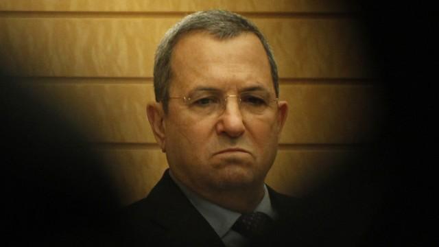 Ehud Barak Israel Iran Atomwaffenprogramm Atombombe