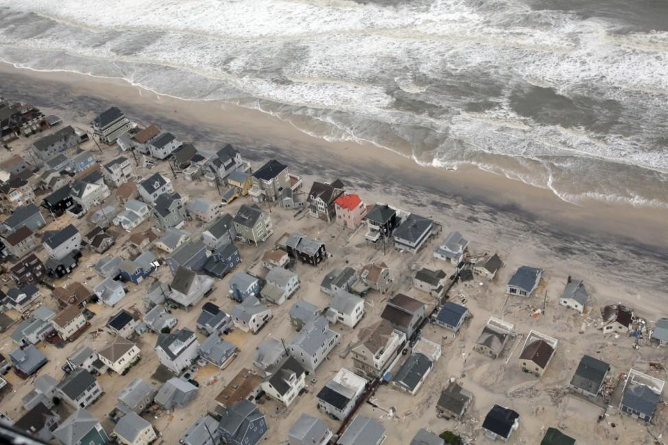 Sandy Hurrikan New Jersey New York Naturkatastrophe