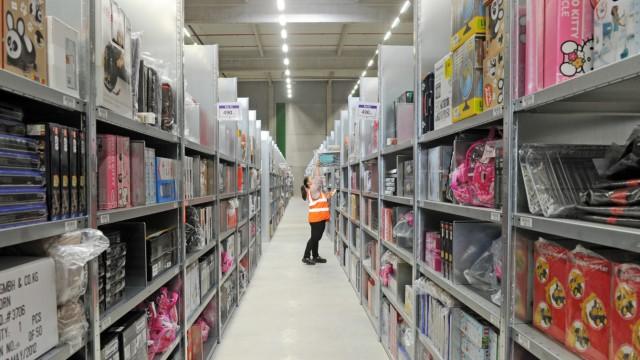 Amazon Logistik-Zentrum Pforzheim