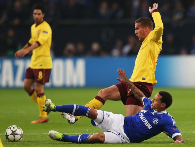FC Schalke 04 v Arsenal FC - UEFA Champions League