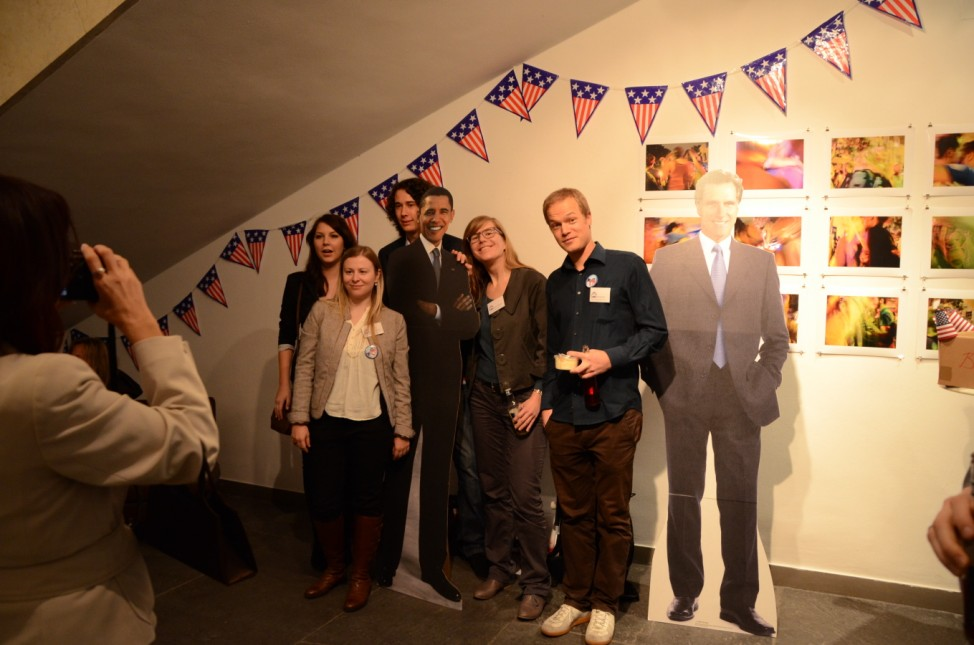 Amerikahaus München US-Wahlparty