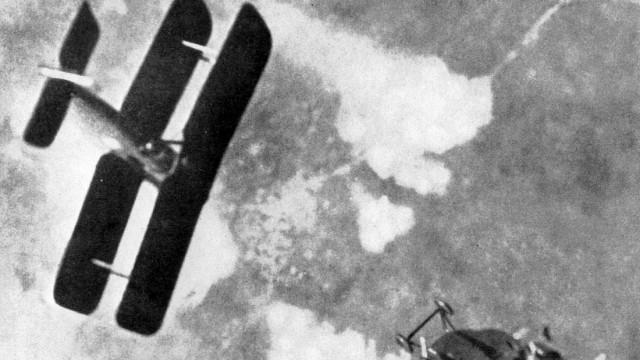 Luftkampf über der Westfront, 1918