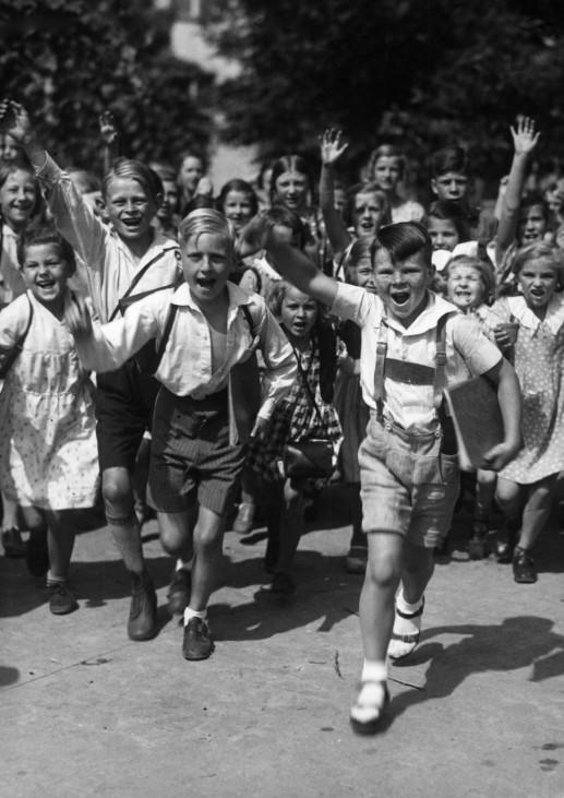 Ferienbeginn, 1936