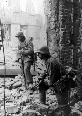 Deutsche Soldaten in Stalingrad, 1942
