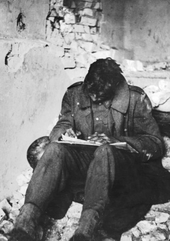 Deutscher Soldat in Stalingrad, 1942