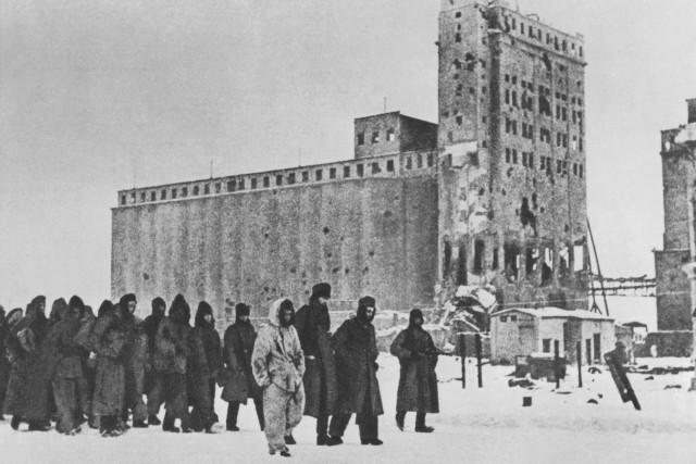 Kapitulation in Stalingrad