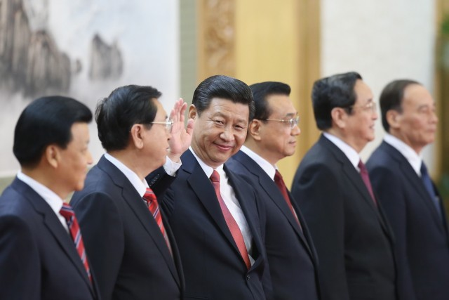 New CPC Leaders Meet Press