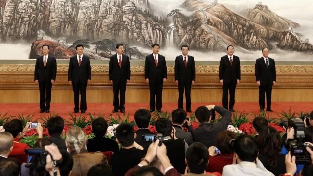 Pressekonferenz in Peking