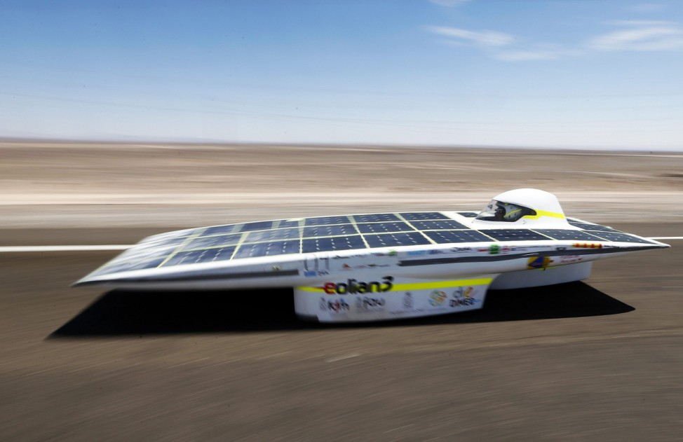 SOLAR CARS RACE IN CHILE