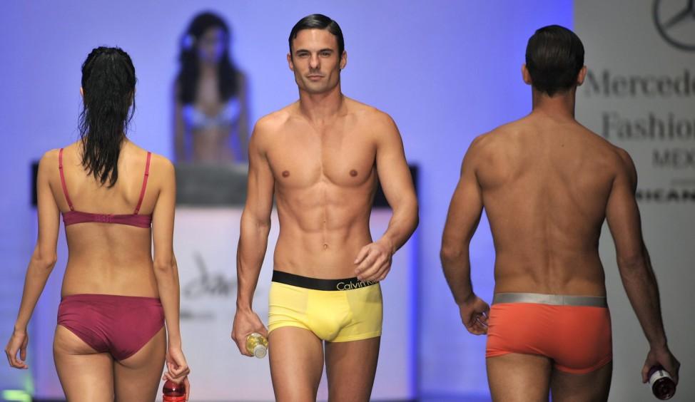 Calvin Klein - runway - Fashion Week Mercedez Benz