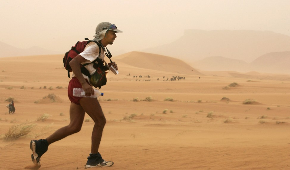 ATHLETICS-MOROCCO-MARATHON DES SABLES