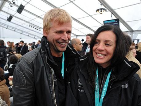 SpaceShipTwo, Dick und Jennifer Hardt, AFP