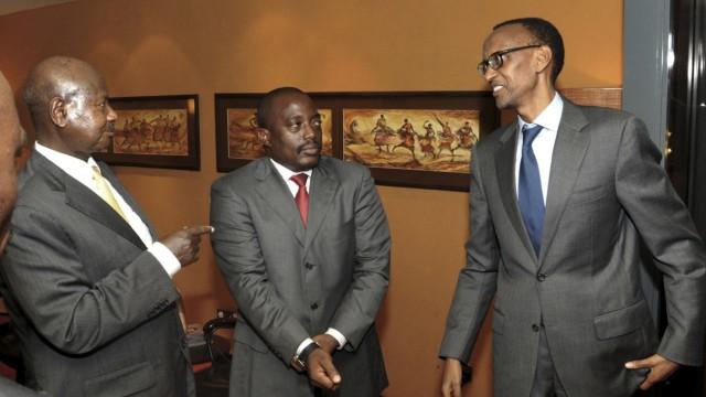 Yoweri Museveni, Paul Kagame, Joseph Kabila