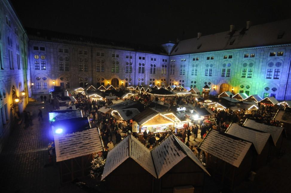 Weihnachtsmarkt, München, Residenz, Christkindlmarkt