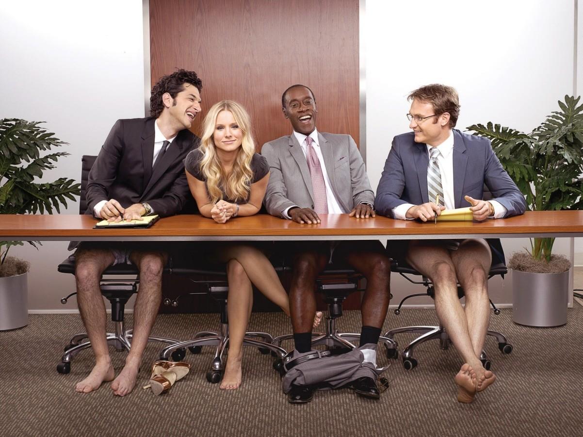 Ben Schwartz, Kristen Bell, Don Cheadle, Josh Lawson  Showtime Networks Inc.