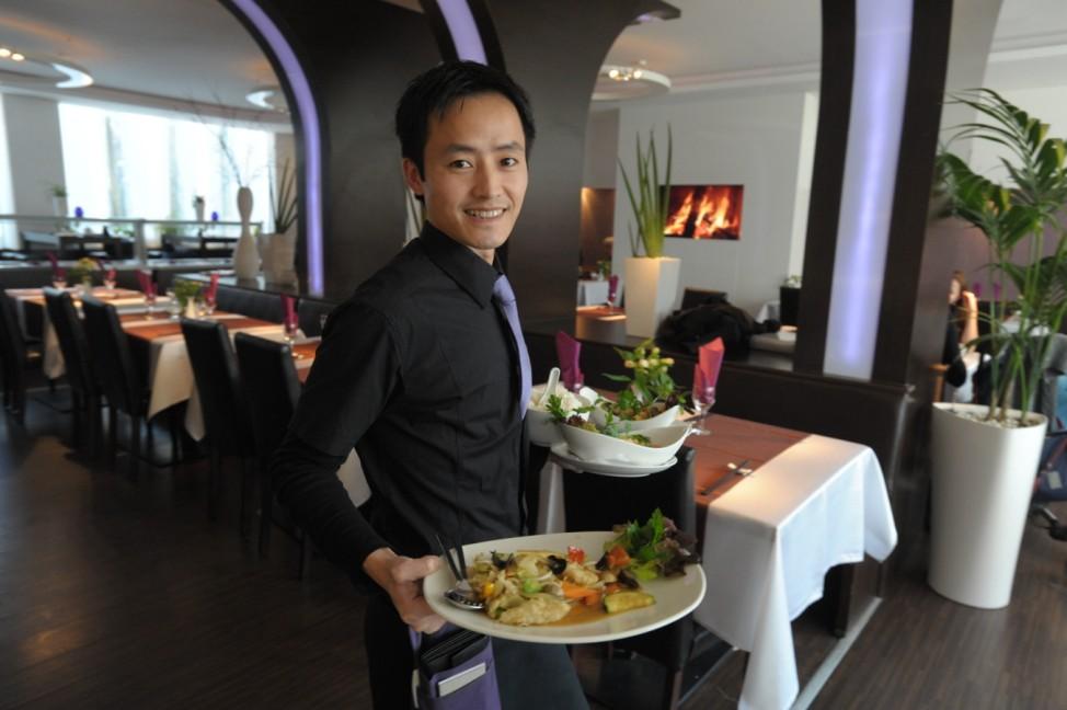 Chinesisches Restaurant 'Yinshi' in München, 2011