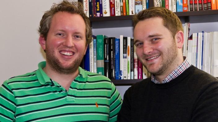 Die Autoren der Megaupload-Studie: Jörg Claussen und Christian Peukert.