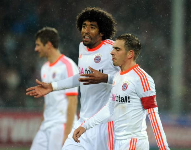 Philipp Lahm, Dante, FC Bayern München