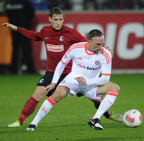 Franck Ribéry,  FC Bayern München, Fußball, Bundesliga