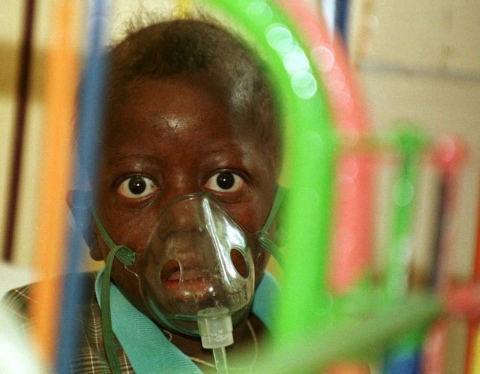 THREE YEAR OLD KENYAN ORPHAN WITH FULL BLOWN AIDS