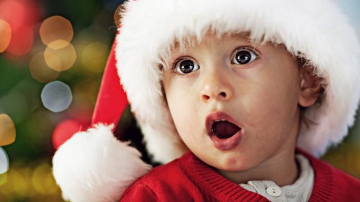 Kind Erziehung Nikolaus Weihnachten Christkind