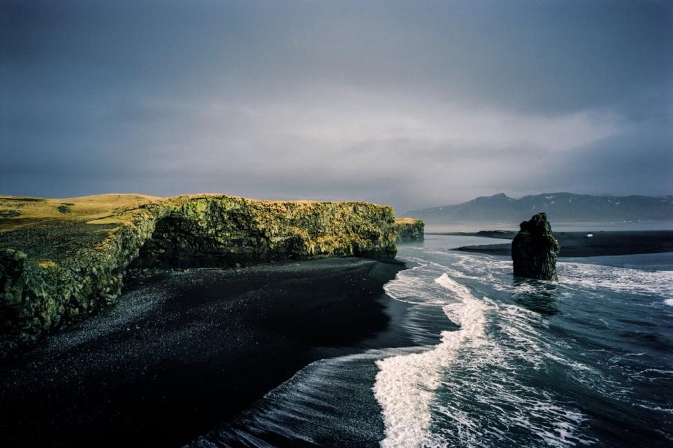 Küste in Island