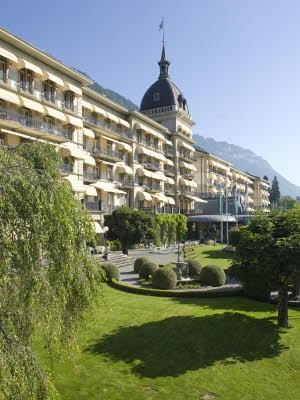 Aktivurlaub Schweiz Interlaken, Grand Hotel Victoria-Jungfrau