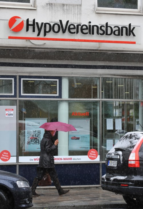 Razzia bei HypoVereinsbank