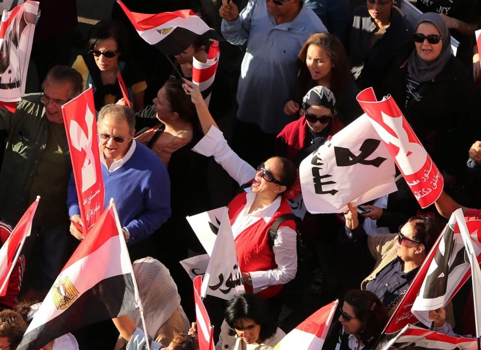 Protest against President Morsi in Tahrir Square