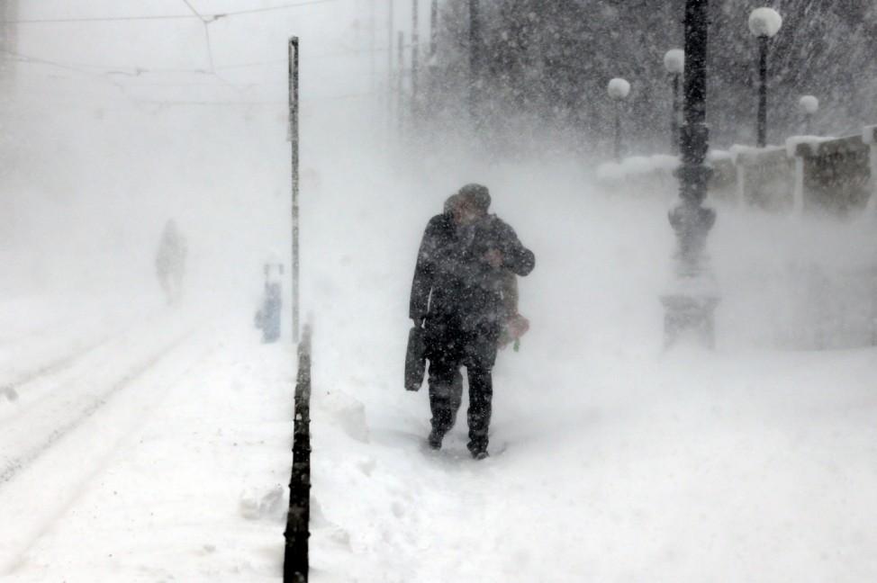 Schnee in Kroatien