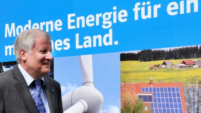 CSU-Vorsitzende Horst Seehofer