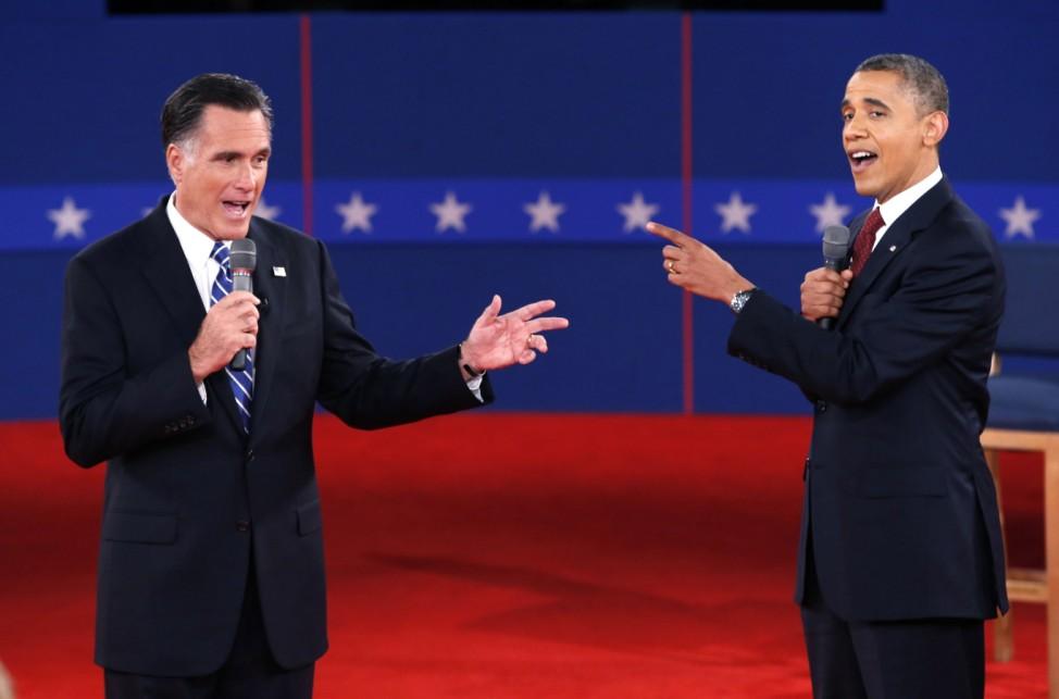 Barack Obama Mitt Romney US-Wahl