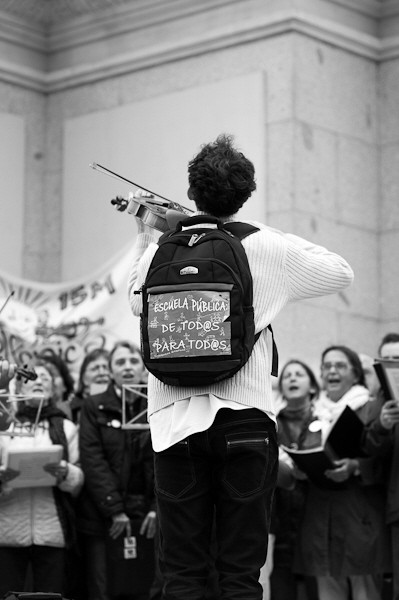 Konzert für Bildung