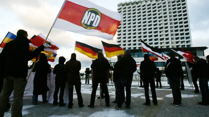 Bundestag Parteifinanzierung NPD Wahlkampkosten Rückerstattung