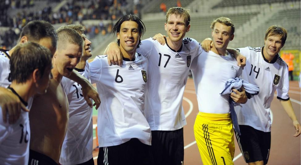 EM-Qualifikationsspiel: Belgien - Deutschland