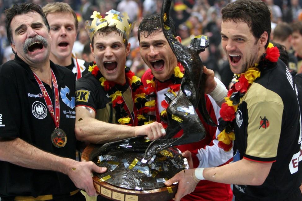 Handball-WM - Deutschland - Polen 29:24 - Siegerehrung