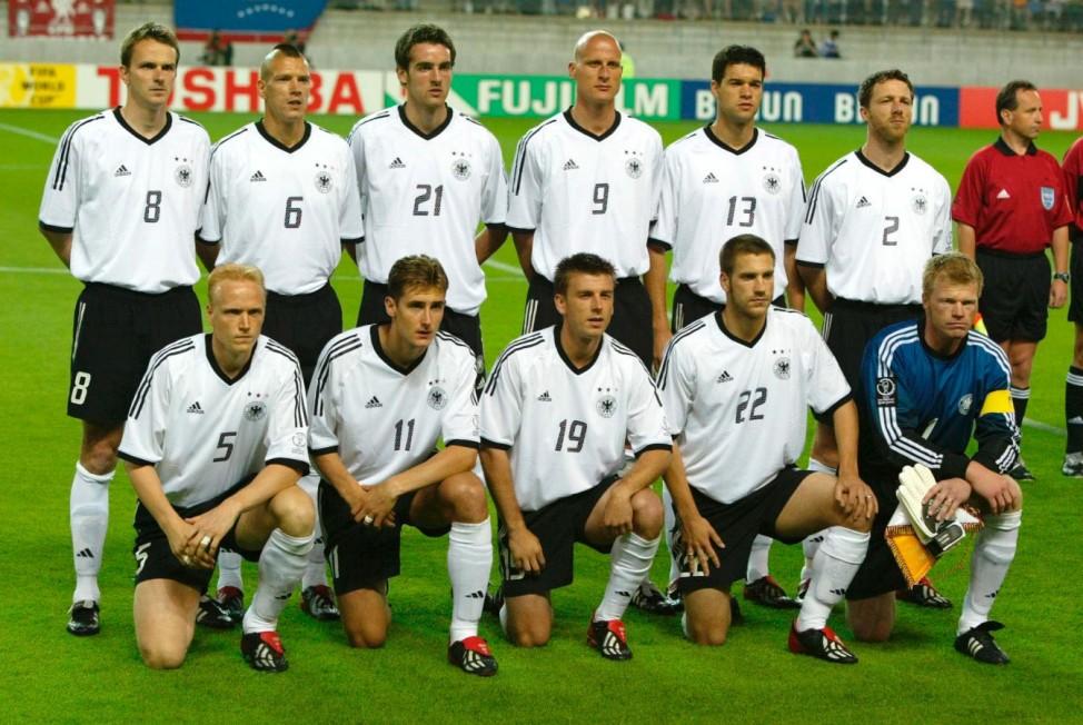 Deutsche Fußball-Nationalmannschaft, 2002