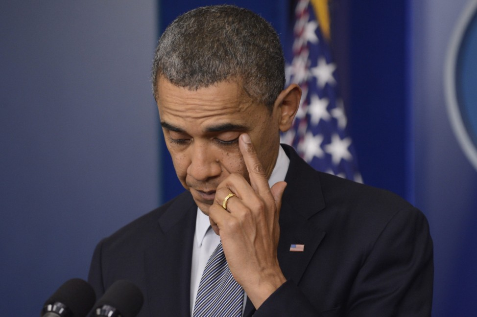 US President Barack Obama delivers remarks on the shooting at San
