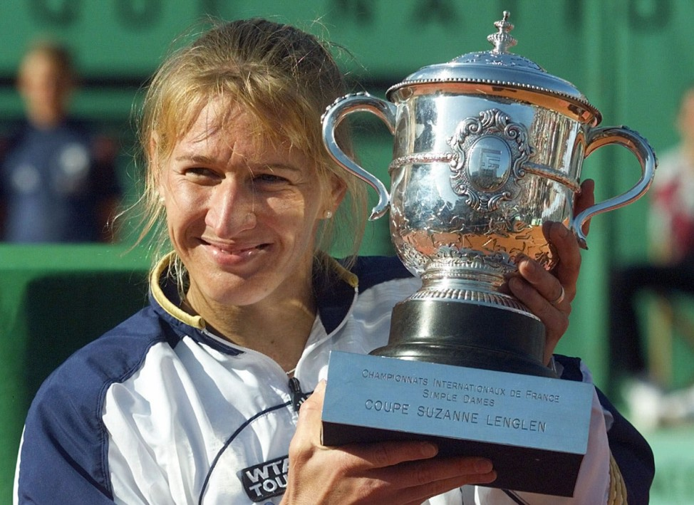 Steffi Graf gewinnt das Finale der French Open, 1999