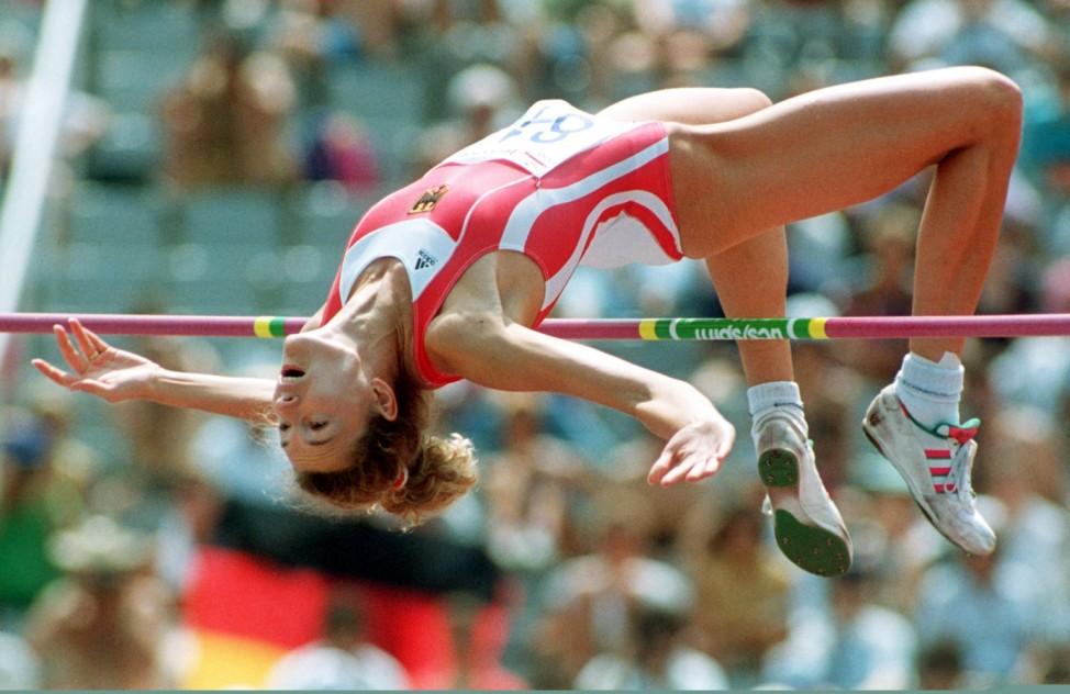 Barcelona 1992 - Heike Henkel