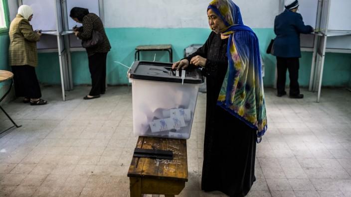 ***BESTPIX*** Egyptian Vote In Constitutional Referendum