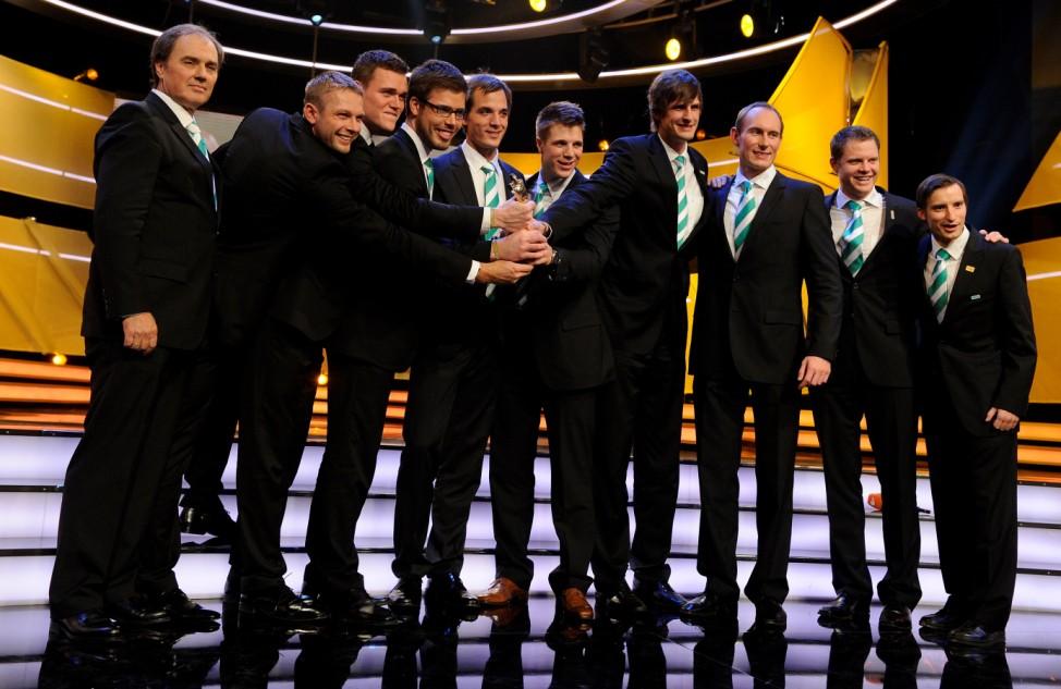Gala zur Auszeichnung der 'Sportler des Jahres 2012'