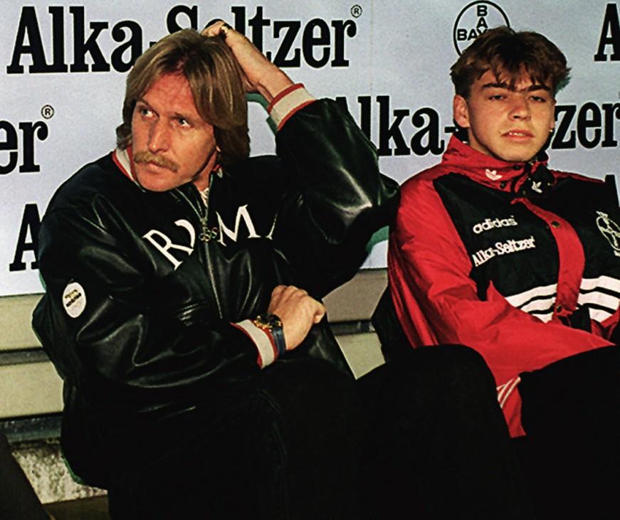 Leverkusen-HSV Bernd Schuster