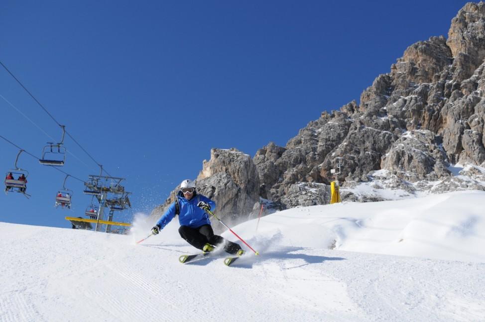 Dolomiten Italien Skisafari Skifahren  Cortina d'Ampezzo