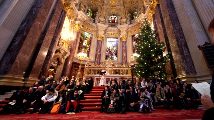 Christvesper im Berliner Dom