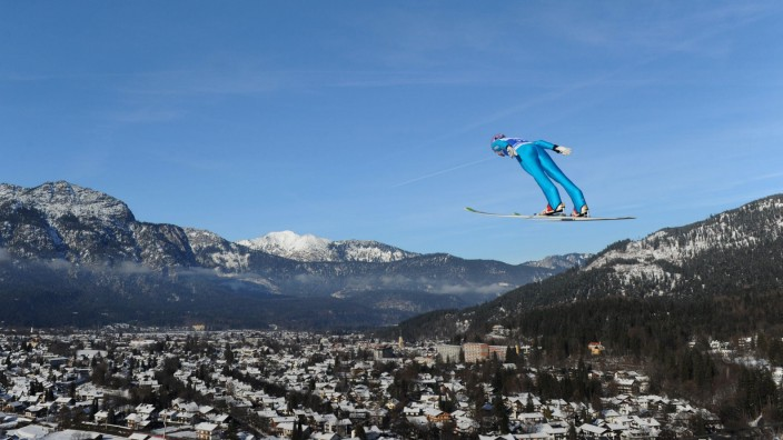 Martin Schmitt Vierschanzentournee 2012 Garmisch-Partenkirchen Skispringen