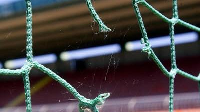 Polizei und Fußball-Fans: Das Stadion an der Grünwalder Straße: Bei einem Spiel am 9. Dezember 2007 kam es zu erheblichen Zwischenfällen.