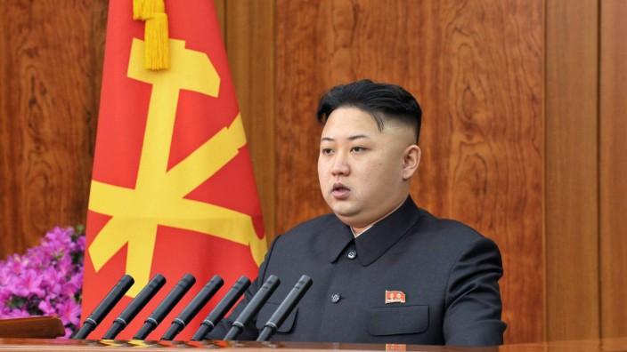 North Korean leader Kim Jong Un delivers new year speech