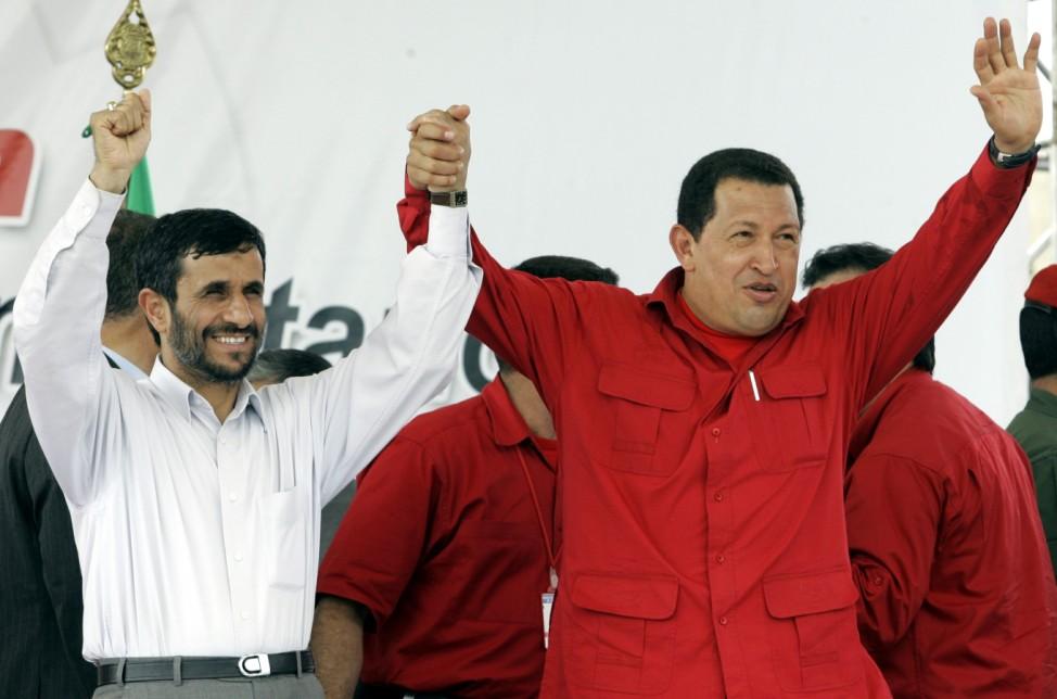 Mahmoud Ahmadinejad, Hugo Chavez
